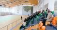 Zwiedzanie sali sportowej